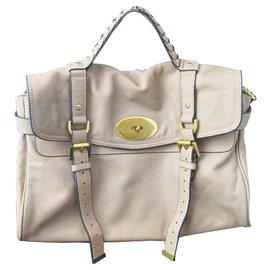 Mulberry-Beautiful Mulberry Alexa Bag-Beige