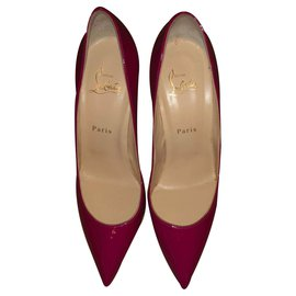 Christian Louboutin-Pigalle-Tollwut-Pink