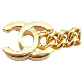 Chanel-Chanel Vintage Gold CC-Golden