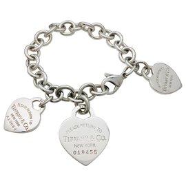 "Tiffany & Co-Bracelet Tiffany & Co. ""Please return to"" en argent.-Autre"