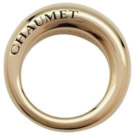 """Chaumet-Bague Chaumet modèle """"Anneau"""" en or jaune.-Autre"""