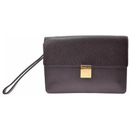 Louis Vuitton-Louis Vuitton Taiga Clutch Bag-Andere