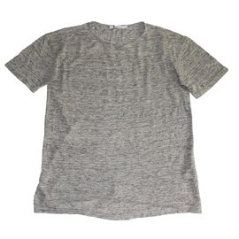 T By Alexander Wang-Tees-Grey