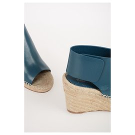Céline-rope mules-Blue