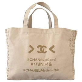 Chanel-Tote bag-Cream