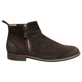 Atelier Voisin-boots Atelier Voisin pointure 40 1/2-Dark brown