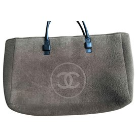 Chanel-Chanel beach bag-Brown