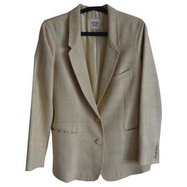 Hermès-Blazer jacket-Cream