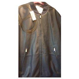 Hermès-Blazers Jackets-Navy blue