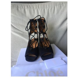 Chloé-Chloé sandals-Black
