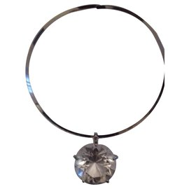 Kenneth Jay Lane-Necklaces-Silvery