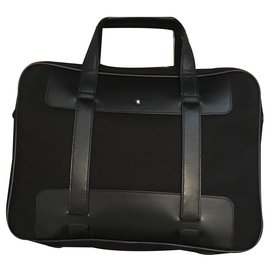 Montblanc-Bags Briefcases-Black