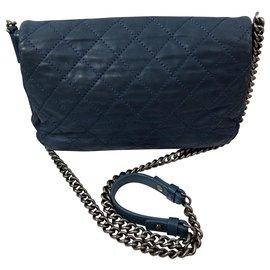 Chanel-classical-Blue,Light blue