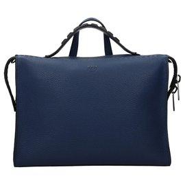 Fendi-Fendi briefcase new-Blue