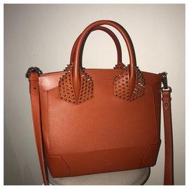 Christian Louboutin-Eloise handbag-Orange