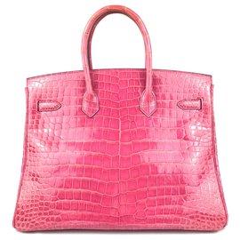 Hermès-Birkin-Rose