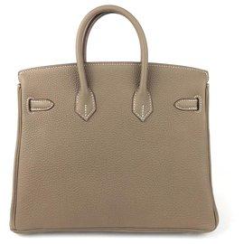 Hermès-Birkin 25-Gris anthracite