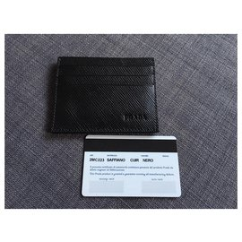 Prada-Prada card wallet-Black