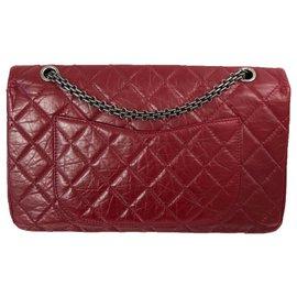 Chanel-Reissue 2.55-Dark red