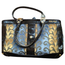 Miu Miu-limited edition bag miu miu-Dark brown