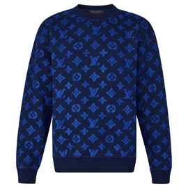 Louis Vuitton-Louis Vuitton Jumper new-Blue