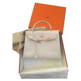 Hermès-Kelly-Blanc