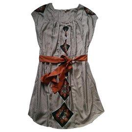 Bel Air-Robes-Marron,Noir,Autre
