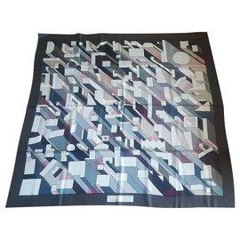 Hermès-Hermes Giant Silk Scarf-Other