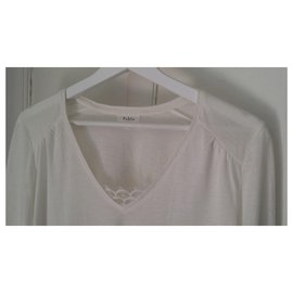 Pablo De Gerard Darel-Tunisian Tee Shirt Long Sleeves-Cream