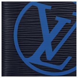 Louis Vuitton-Louis Vuitton mens wallet new-Blue