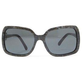 Chanel-DARK GREY TWEED-Dark grey