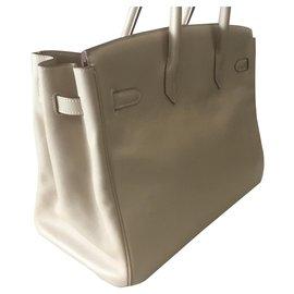 Hermès-Birkin 35-Sand