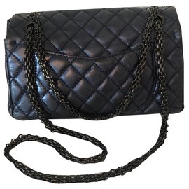 Chanel-Reissue-Blue,Metallic