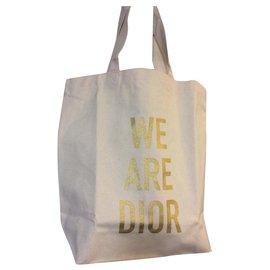 Dior-Fourre-tout-Blanc cassé