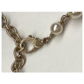 Chanel-Chanel CC  necklace-Golden
