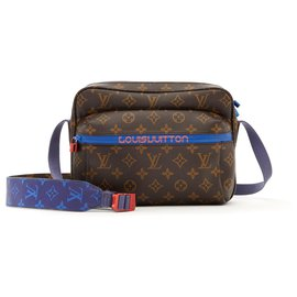 Louis Vuitton-OUTDOOR MESSENGER PM BY VIRGIL ABLOH-Brown