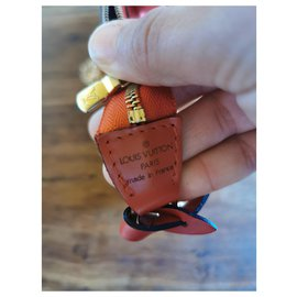 Louis Vuitton-Epi Pouch-Red