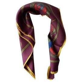 """Hermès-""""At the Paris Arms""""-Multiple colors"""