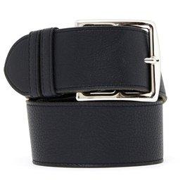 Hermès-ETRIVIERE LARGE BLACK T70-Black,Silvery