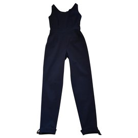 Chanel-Jumpsuits-Black