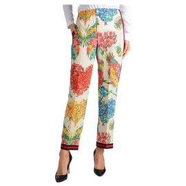 Gucci-Pantalon Gucci nouveau-Blanc