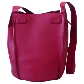 Céline-Céline Big Bag Bucket-Red