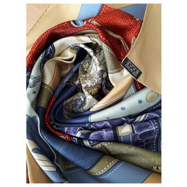 Hermès-All leather-Blue