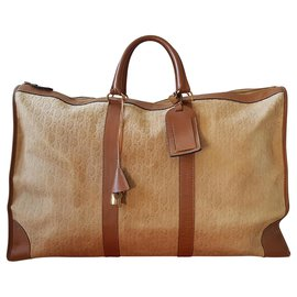 Christian Dior-Bags Briefcases-Beige