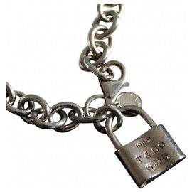 Tiffany & Co-SILVER LOCK BRACELET-Argenté