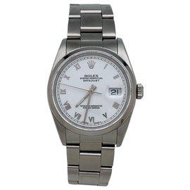 """Rolex-Rolex Uhrenmodell """"Datejust"""" Stahl auf Stahl.-Andere"""