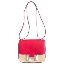 Hermès-Hermes Constance 18 Red Epsom-Red