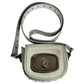 Céline-Clutch bags-Silvery