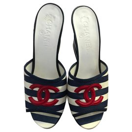 Chanel-Cruise-White,Navy blue