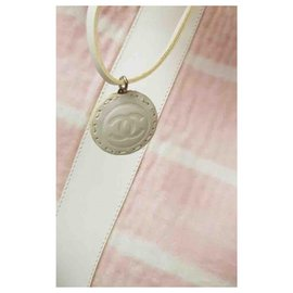 Chanel-Sacs à dos-Rose,Blanc